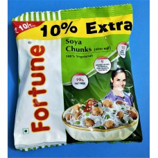 Fortune Soya Chunks 45 gm pouch