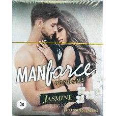 Manforce Jasmine  Flavoured  Condoms of 3  condoms