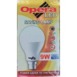 Opera LED 9W No warranty 4 pieces