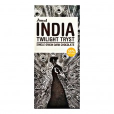 Amul India Twilight Tryst Single Origin Dark Chocolate - 55% Dark 125 gm