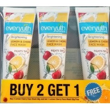 Everyuth Lemon & Cherry Face Wash 50 gm