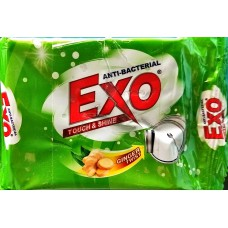 Exo Dishwash Bar - Anti Bacterial With Cyclozan 125 gm X (Pack of 4)