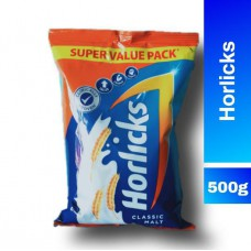 Horlicks Health & Nutrition Drink - Classic Malt 500 gm Pouch