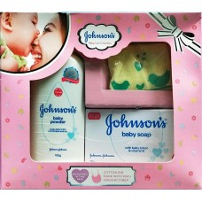 Johnson & Johnson  ( Baby Care Collection ) 3 Packed