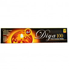 Diya 100_Thick Incense Sticks 1 Pack