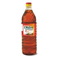 Dhara Oil - Mustard (Kachi Ghani) 1 ltr Bottle