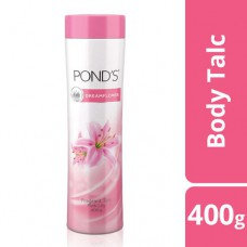 Ponds Dreamflower Fragrant Talc - Pink Lily 400 gm