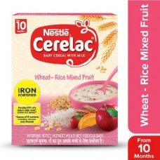 Nestle  Cerelac - Wheat Rice Mixed Fruit (Stage 3) 300 gm Carton