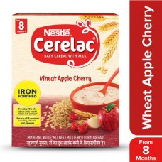 Nestle  Cerelac - Wheat Apple Cherry (Stage 2) 300 gm Carton