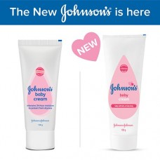 Johnson & Johnson Baby Cream intensive 24-hour moisture to protect from dryness 100 gm