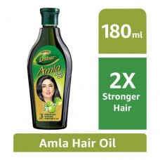 Dabur Amla Hair Oil - Long Healthy & Strong Hair 180 ml