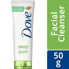 Dove Face Wash - Deep Pure 50 gm Tube
