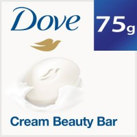 Dove Cream Beauty Bathing Bar Soap 75g + 25g free 100 gm