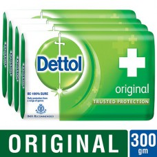 Dettol Original Protection 75 gm  (Pack of 4)